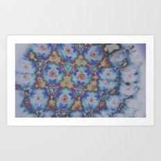 Inverted Kaleidoscope  Art Print
