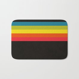 Retro Camera Color Palette Bath Mat