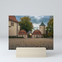 View to the entrance Mini Art Print
