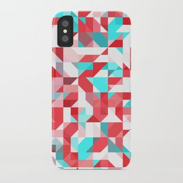 Staccato Red iPhone Case