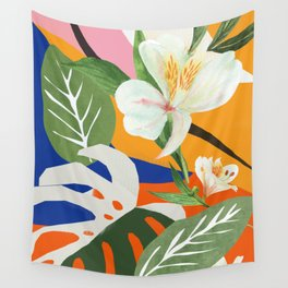 Garden - Abstract Art Wall Tapestry