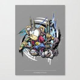 design monkey Canvas Print