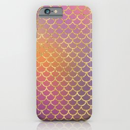Bling Purple & Pink Pattern iPhone Case