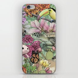 Flora and Fauna of Mexico iPhone Skin