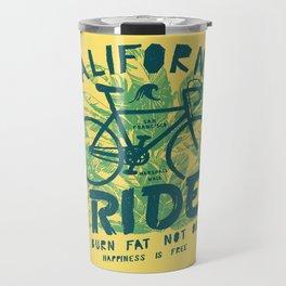 California Bicycle Ride Travel Mug