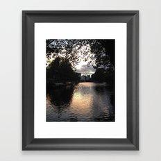 London, Little Venice Framed Art Print