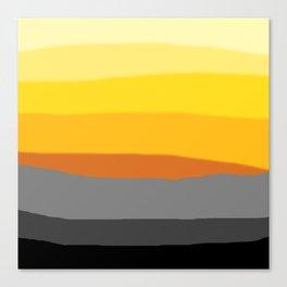 Lemon Sunset Canvas Print