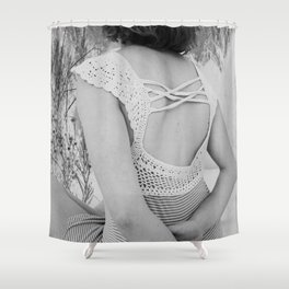 Dreams come with eyes wide open Shower Curtain
