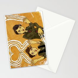 """Heartthrob"" by Dmitri Jackson Stationery Cards"