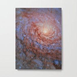 Galactic Sunflower Metal Print