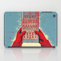 budapest hotel iPad Cases featuring GRAND BUDAPEST HOTEL COLOR by Oleol