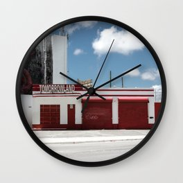 This is tomorrow land Wall Clock