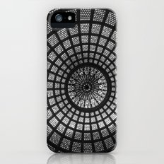 Tiffany Glass Dome Black/White Photography Slim Case iPhone (5, 5s)