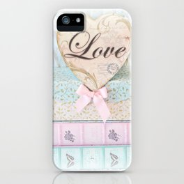 Love Heart Books iPhone Case