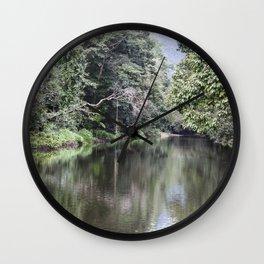 Rainforest River Wall Clock
