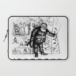 Santa Claus ... - Thomas Nast Laptop Sleeve