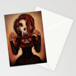 Skull Theatre Stationery Cards