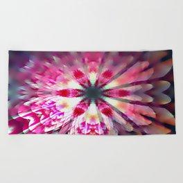 Magical flower Beach Towel