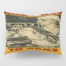 Vintage poster - Enlist in the Navy Pillow Sham