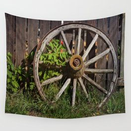 Like a Wagon Wheel Wall Tapestry