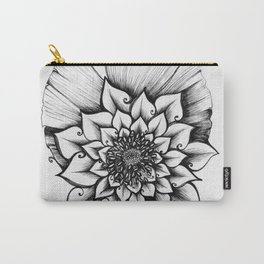 Lotus Lovely Carry-All Pouch