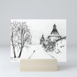 Solovki monastery SK03P Mini Art Print