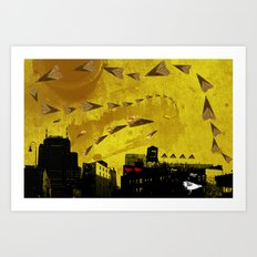 airplanes and cigarettes Art Print
