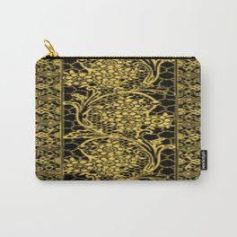 Primrose Yellow Lace Carry-All Pouch