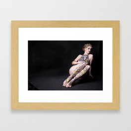 Gold Goddess V. Framed Art Print