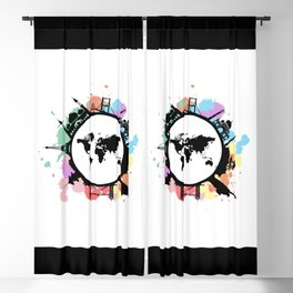 It's travel time Blackout Curtain