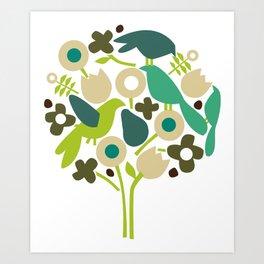 birdy num num Art Print