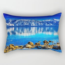 Lake Tahoe Rectangular Pillow