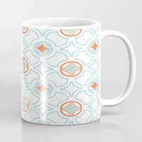 geo Mugs featuring Geo  by Laura Braisher