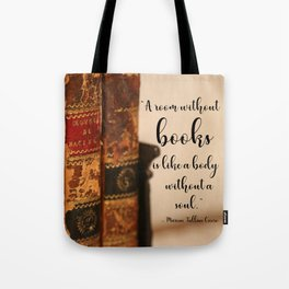 A room without books Tote Bag