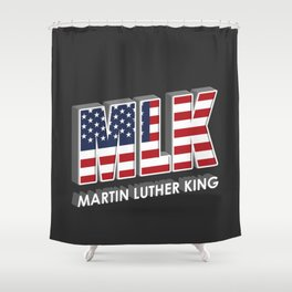 Vintage Retro Shower Curtain