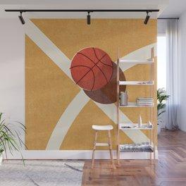 BALLS / Basketball (Indoor) Wall Mural