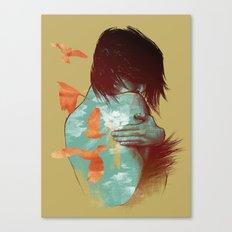 See It Through Canvas Print