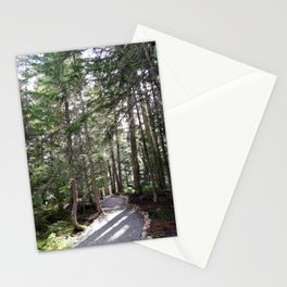 A path through the woods Stationery Cards