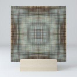 Modern Abstract Plaid Mini Art Print