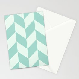 Parallelogram Pattern 3 Stationery Cards
