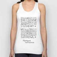 florence Tank Tops featuring Howl- Florence by Brittain Rhea
