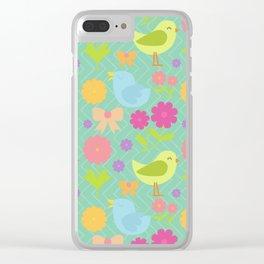 birds 2.0 Clear iPhone Case