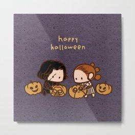 Reylo - Happy Halloween Metal Print