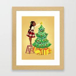 Holiday Tree 2 Framed Art Print