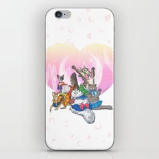 Sailor Kitties iPhone & iPod Skin