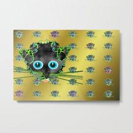 Partycats Metal Print