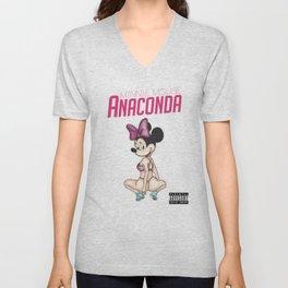 Minnie Minaj Anaconda  Unisex V-Neck