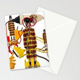 Wire Love by Lenka Laskoradova Stationery Cards