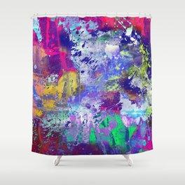 Rainbow Anguish Shower Curtain