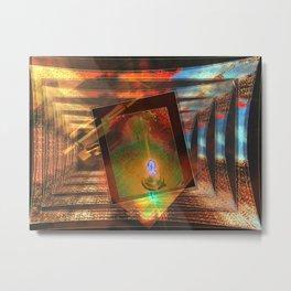 Inflammable Metal Print